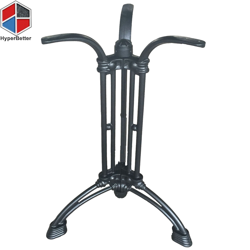 72cm Black iron tripod table base2
