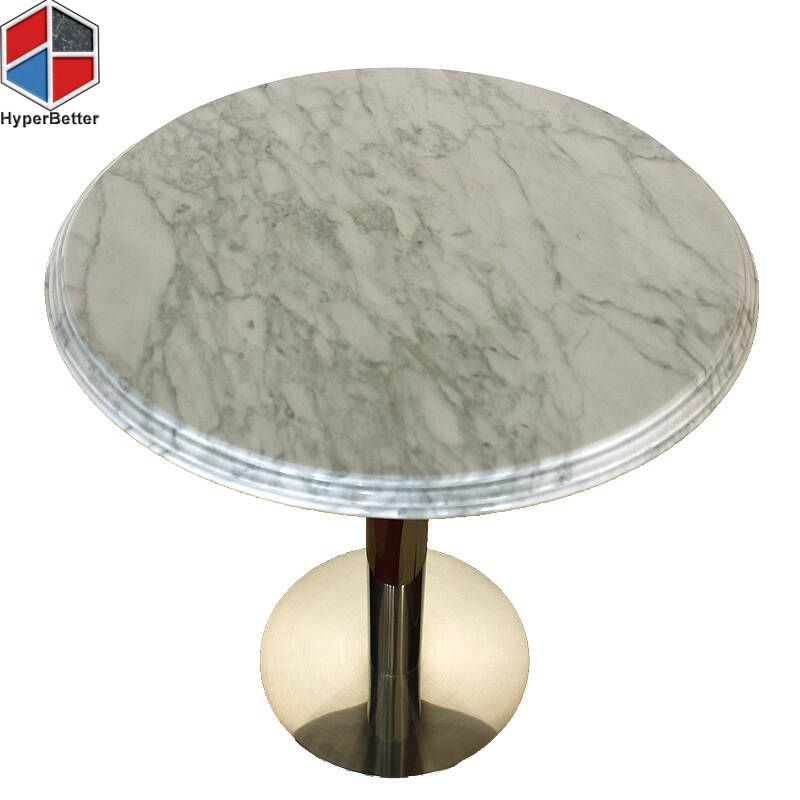 Carrara White Marble Stone Coffee Table Directly Marble Table Factory