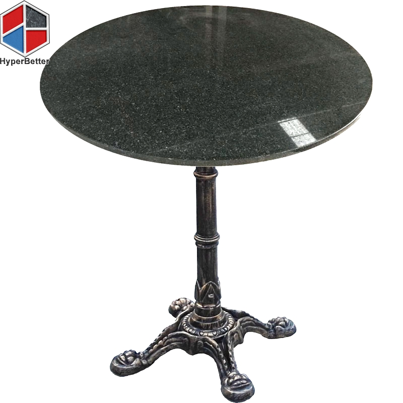 Chan Marble Top Round Coffee Table 80cm Brown Brass: Granite Dining Table Top- 第2页 共2页 - Marble Table