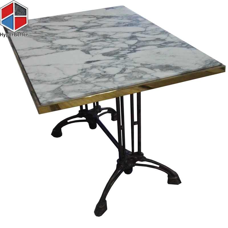 marble rectangular dining table
