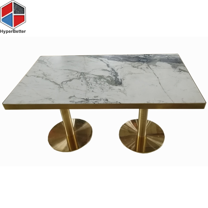 120cm marble dining table 6 seater