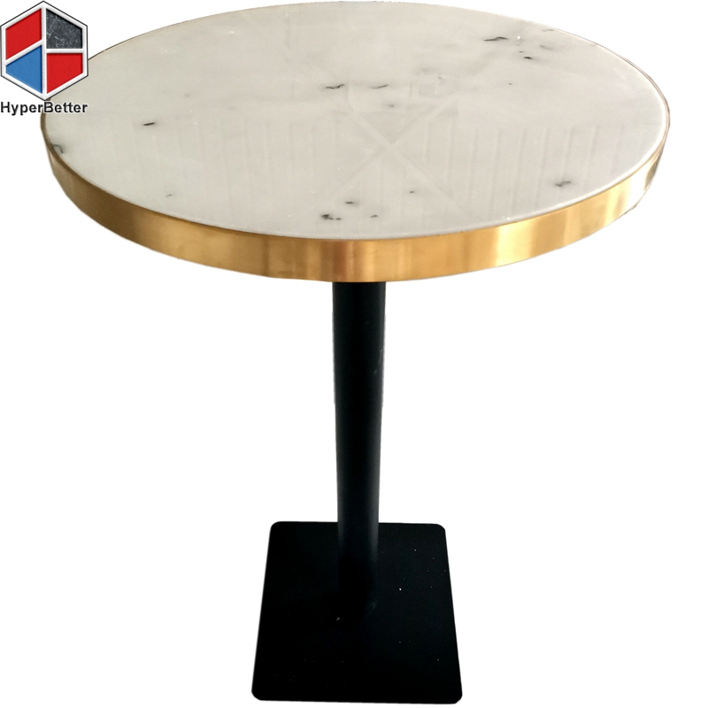 marble and iron coffee table
