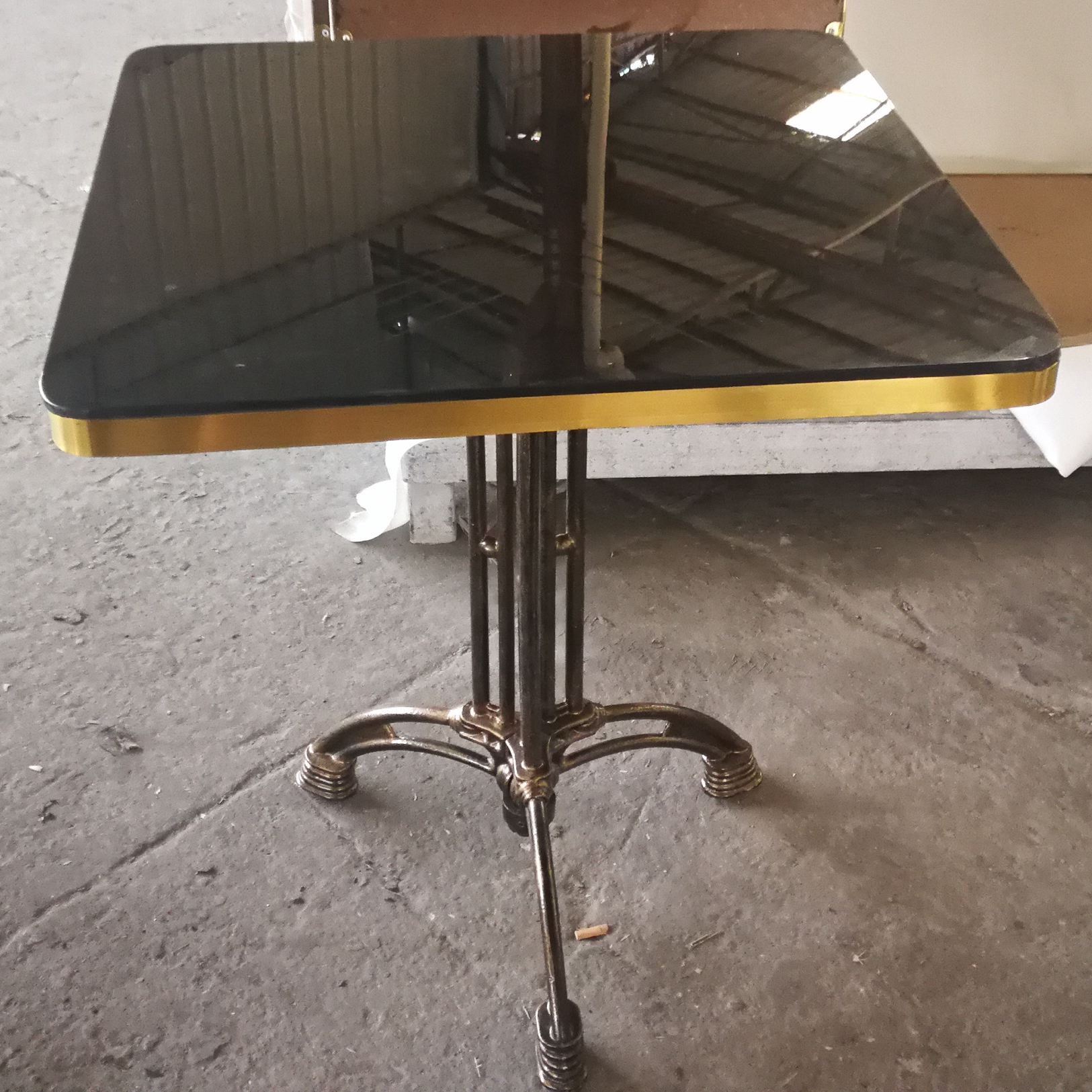 Square Black Marble Coffee Table Modern Marble Table Supplier
